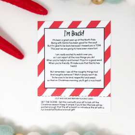 Christmas Made Easy: Elf idea Cards to save you from a crazy December!