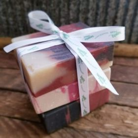 The Christmas Trio by Squeaky Clean Soaps N Such!