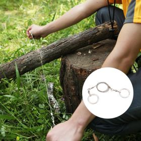 Ace Camp Survival Hand Wire Saw: another handy option!
