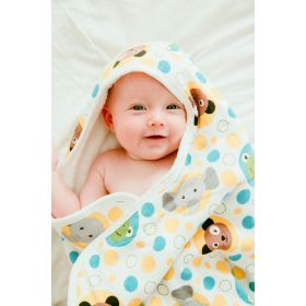 Baby Hooded Towels By Yikes Twins