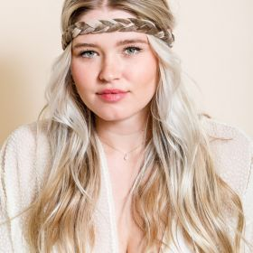 Soft Braided Headbands: Boho Chic for summer!