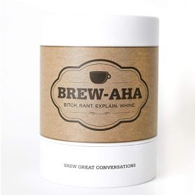 Brew-aha Conversation starter and Card Game for Adults!