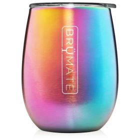 BruMate Uncork'd Wine Tumbler: *Rebate Program* Rainbow Titanium