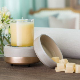 2-in-1 Classic Fragrance Warmers by Candle Warmers
