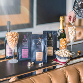 So Yummy! So Tasty! EATABLE POPCORN - alcohol infused popcorn for the refined palate!