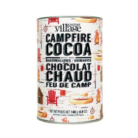 Gourmet Village Complete Campfire Hot Chocolate Canister: makes 4-6 servings!