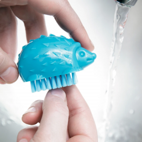 Kikkerland Nail Brush in Whale and Hedgehog Assorted!