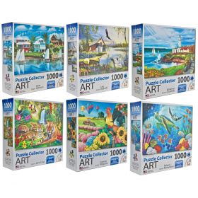 PUZZLES! 1000pc Art collection