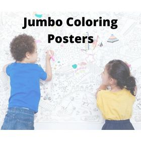 JUMBO COLORING POSTERS Part 1