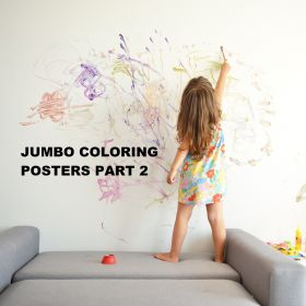JUMBO COLORING POSTERS PART 2
