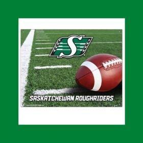 SASKATCHEWAN FEATURE: AUTHENTIC RIDERS MERCH: COLLECTIBLE EMBOSSED TIN DISPLAYS
