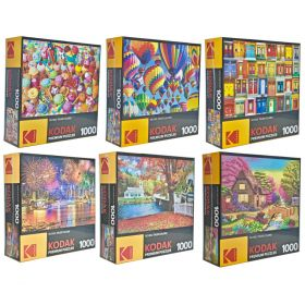 PUZZLES! 1000 PC KODAK Premium Collection
