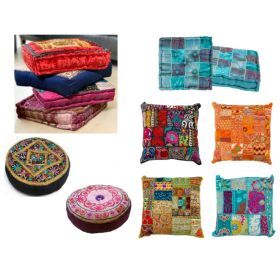 SQUARE MEDITATION CUSHIONS! Direct from India!