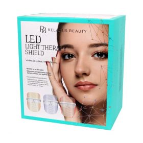 Relaxus Spa LED Light Therapy Facial: AT HOME!