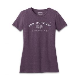 Schitt's Creek Official Merch: Rose Apothecary Fitted Tees