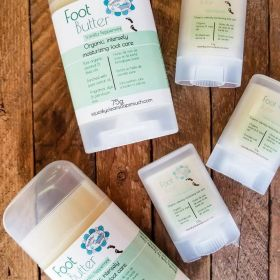 FOOT BUTTER: Intensely moisturizing foot care by Squeaky Clean Soaps N Such