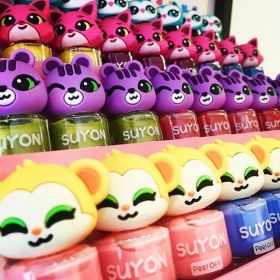 Suyon Collection: Kids non-toxic safe nailpolish from France!