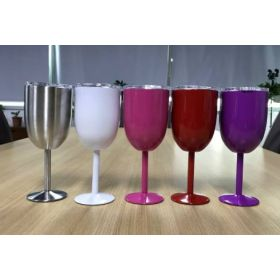 Stainless Steel Wine Glass Tumblers