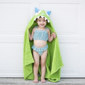 Kids Character Hooded Towels by Yikes Twins!